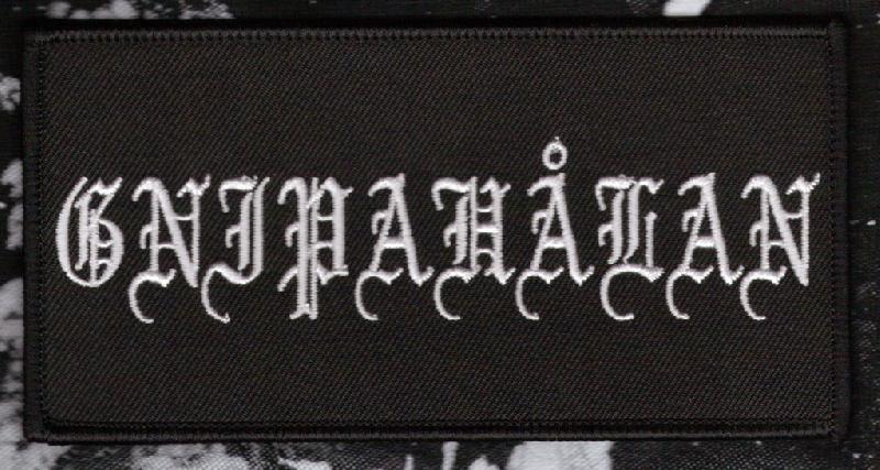 Gnipahalan Logo Patch Into Endless Chaos Records
